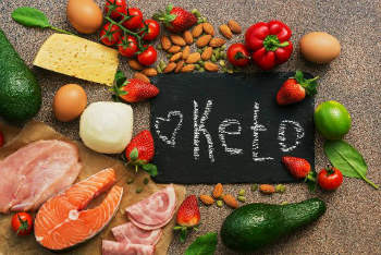 Keto: Come sólo cuando tengas mucha hambre.